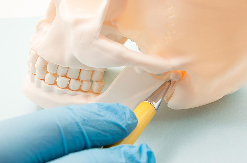 Was geschieht bei der CMD? | CMD = Cranio-Mandibuläre-Dysfunktion