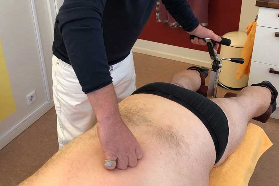 Mobilisationsliege | Chirotherapie / Osteopathie